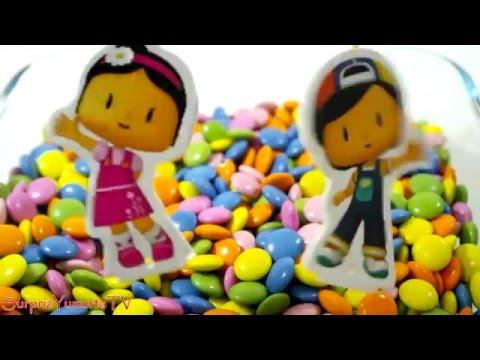 Pepee ve Şila Draje Şeker Havuzunda Sürpriz Oyuncak Arıyor - #SYTV - Sürpriz Yumurta Oyunu izle