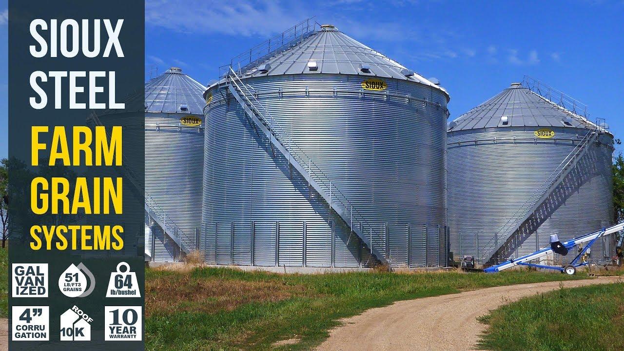 Farm Bins | Sioux Steel Company