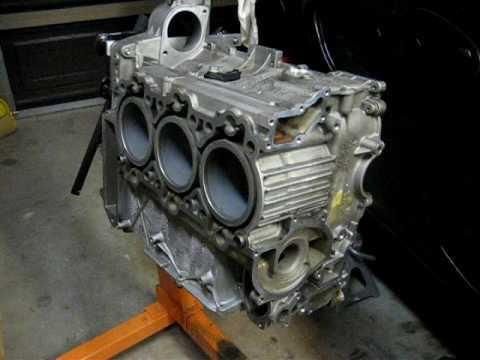 Porsche Boxster S Engine Assembly