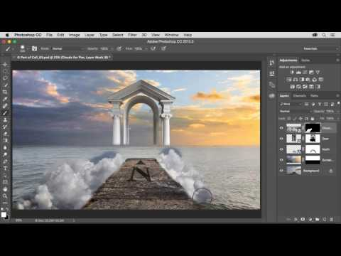 CGI Photoshop Tutorials HD: Photoshop Add Dreamlike Elements To The Composite