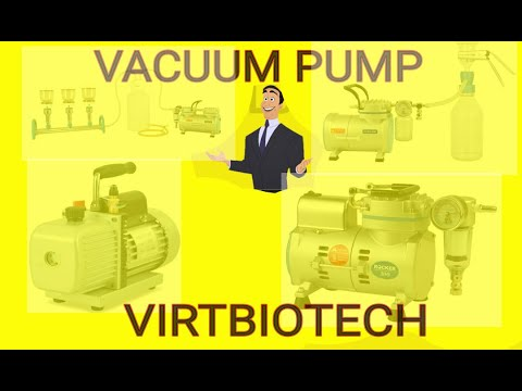 Types Of Vacuum Pump | How Does Vacuum Pump Work | Vacuum Pump |Virtbiotech | Online Shopping | UAE