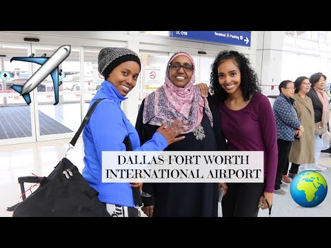 DFW Airport Vlog | Mom's going to Sudan!