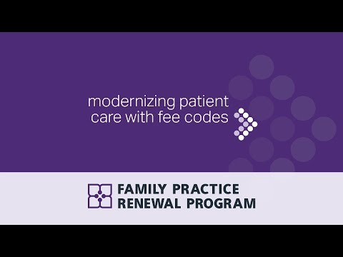 Modernizing patient care with fee codes