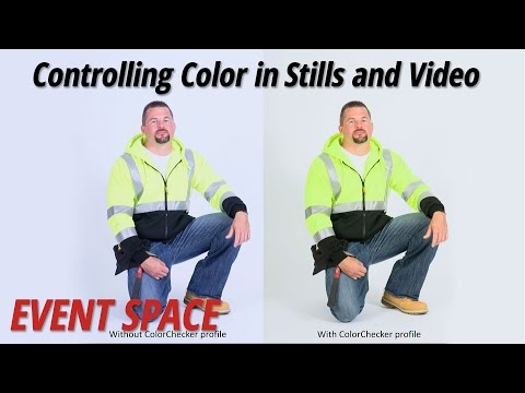 Controlling Color in Stills and Video