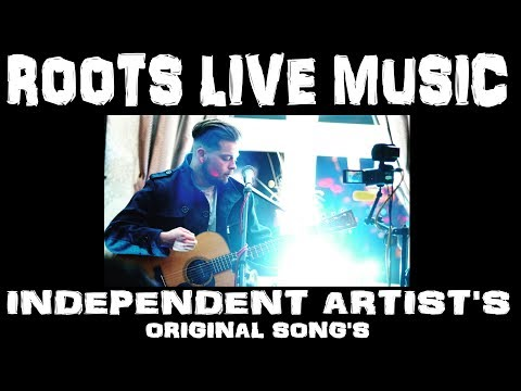 Michael Jenkinson - Original song (Here I Go) Nottingham music - roots live music Video