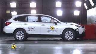 Subaru Outback | Euro Ncap 2014 | Crash Test | Краш-Тест