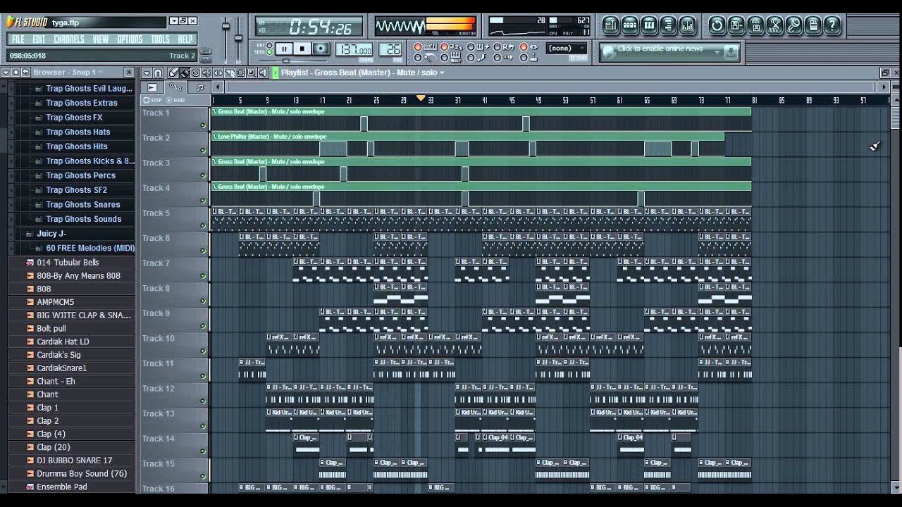 Download Fl Studio Project Trap