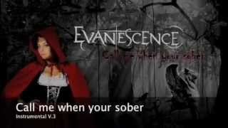 Evanescence-Call Me When You