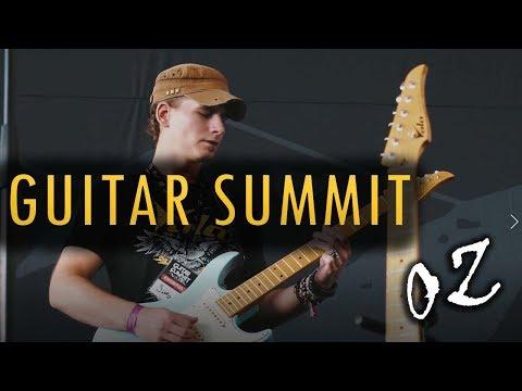 Guitar Summit 2018 : Vola OZ 22 MF with Simon Borro