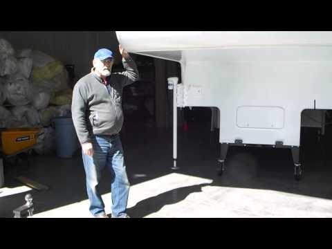 REICO TITAN 8' TRUCK CAMPER DOLLY W/HEAVY TRIPLE SLIDE, CASTER PROBLEM SOLVED