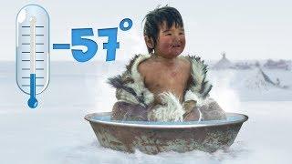 É Assim Que as Pessoas Tomam Banho no Lugar Mais Frio do Mundo