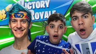 "REACTION to FORTNITE's BEST REAL WINS! ""season 6"""