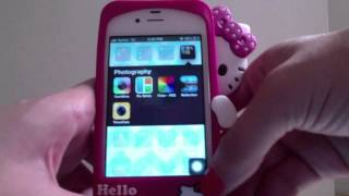 What's On My Iphone 4s + How I Edit My Instagram Pictures Thumbnail