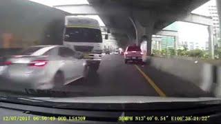 Semi-Truck Turns Unexpectedly || ViralHog