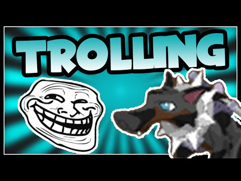 THE FUNNIEST ANIMAL JAM ROLEPLAY TROLL