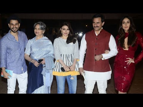 Kareena Kapoor, Saif Ali Khan At Soha Ali Khan's 'The Perils of Being Moderately Famous' Book Launch