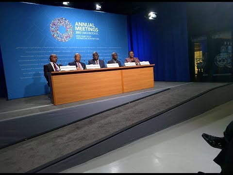 African Finance Ministers [Gambia, Lesotho, Guinea-Bissau, Niger on Digital Africa #IMFMeetings