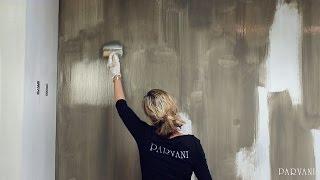 Wanden schilderen met kalkverf - Parvani - Carte Colori