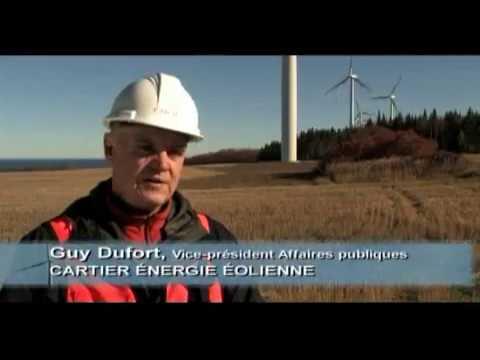 Présentation Cartier Énergie Éolienne