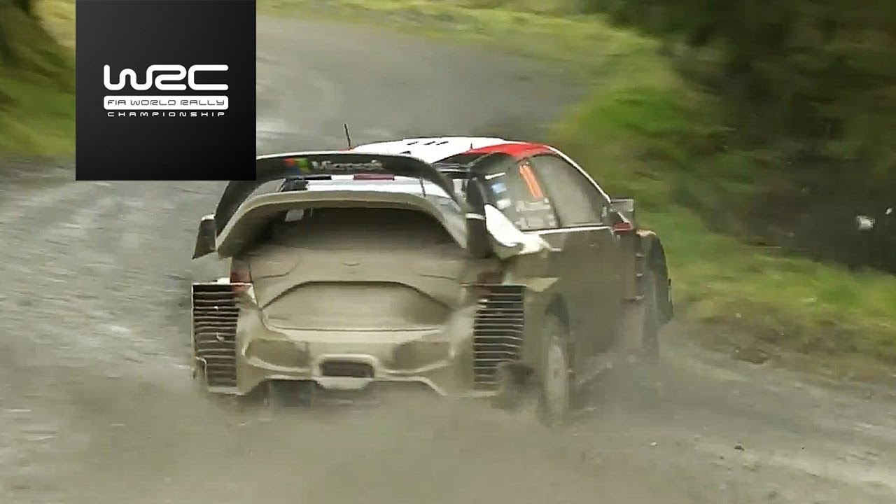 WRC - Dayinsure Wales Rally GB 2017: Highlights Stages 8-11