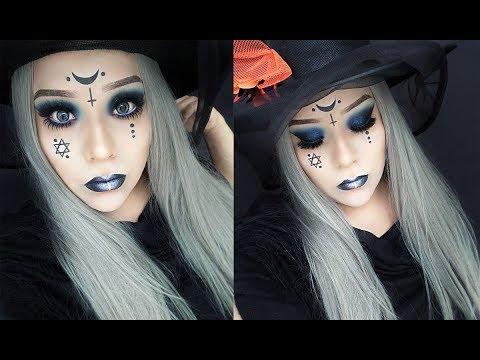 Witchy Make Up Maquillaje De Bruja Dailymotion Video - Maquillaje-de-bruja