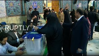 LIVE: Polling stations close in Iran after day of parliamentary elections