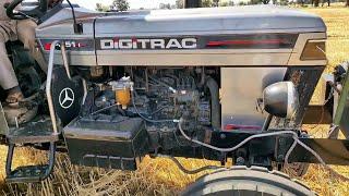 digitrac tractor PP 51i पहली बार MP में आया बो भी पंजाब से देख लो कितना डीज़ल लेता है