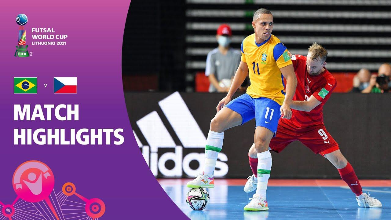 Download Brazil v Czech Republic   FIFA Futsal World Cup 2021   Match Highlights