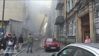 Sosnowiec   pożar 14 09 2012