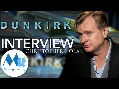 DUNKIRK Exclusive Interview:  Chistopher Nolan