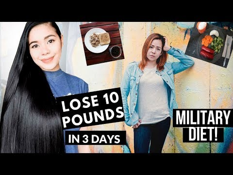 My Sister Tried Out Military Diet- Lose 10 Pounds in 3 Day ...