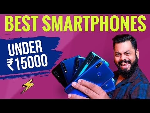 TOP 5 BEST MOBILE PHONES UNDER ₹15000 BUDGET ⚡⚡⚡ August 2019