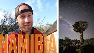 Astro Photography in Namibia's Quiver Tree Forest