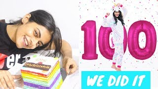 Finally, WE DID IT!! 100K subscribers special | #DhwanisDiary