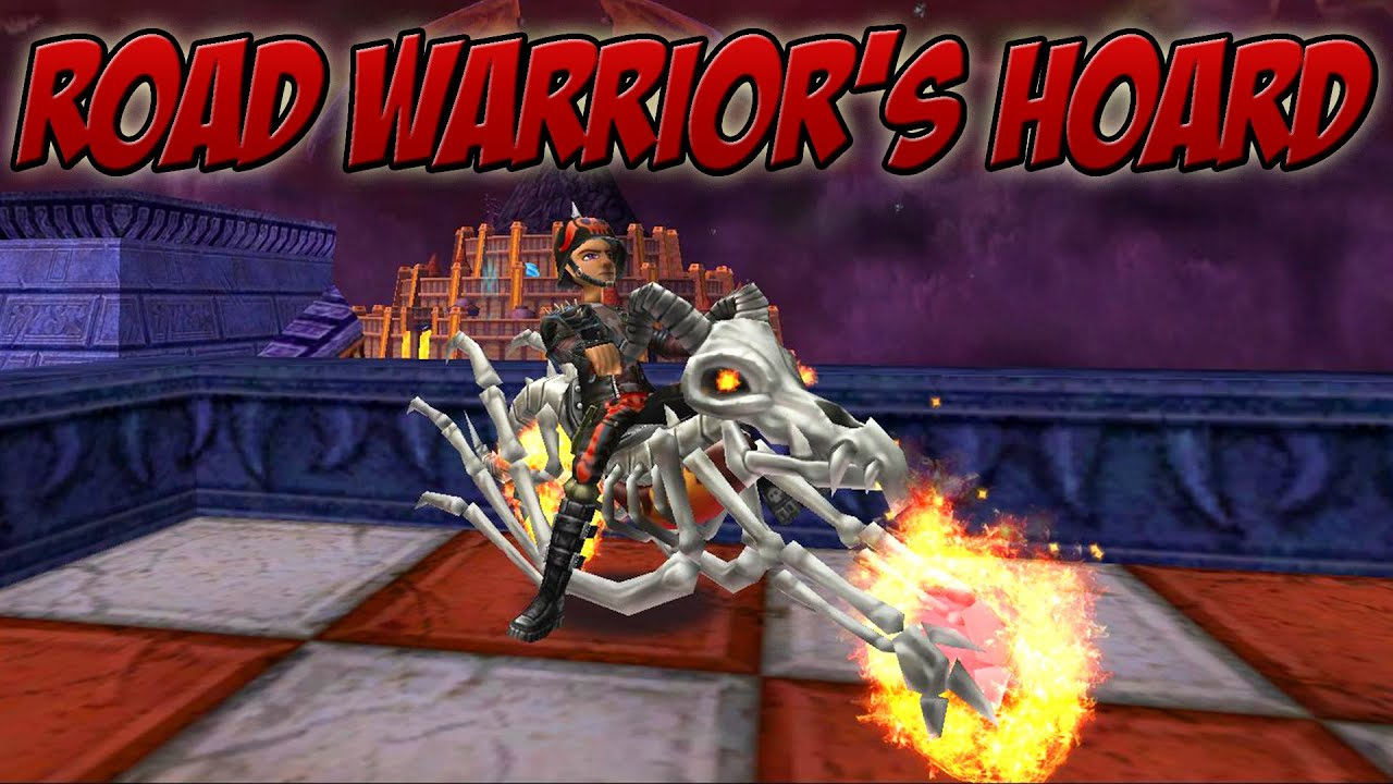 Wizard101: CAN I GET THE MOUNT?! - Road Warrior's Hoard Pack