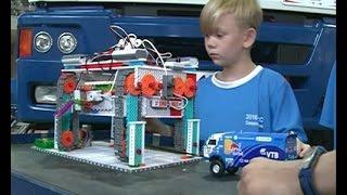 """Желая помочь """"КАМАЗ-Мастеру"""", юные челнинцы победили на состязаниях робототехники в Юж. Корее"""