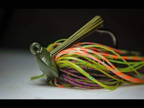 The BOOYAH Bankroll Jig is great for fishing grass AND wood!