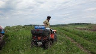 Путешествие на квадроциклах Алтай 2015