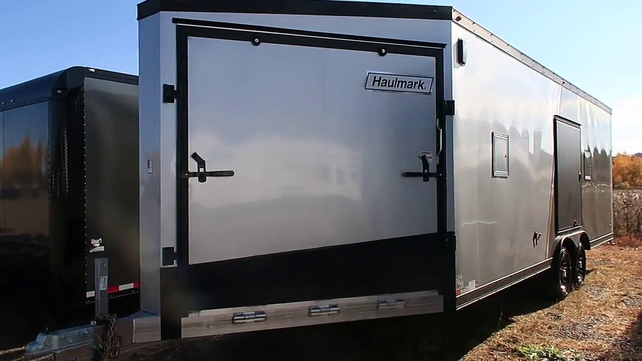 2007 Triton 2 Place Enclosed Snowmobile Trailer