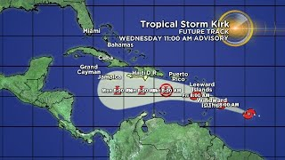 Eye On The Tropics: Tropical Storm Kirk Re-Emerges In The Atlantic