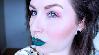 LOOK: ROCKING GREEN LIPSTICK Thumbnail