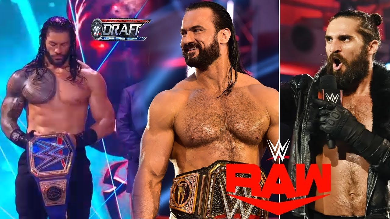 WWE Monday Night Raw 28th September 2020 Highlights Preview - Roman reigns Draft, Clash of Champions