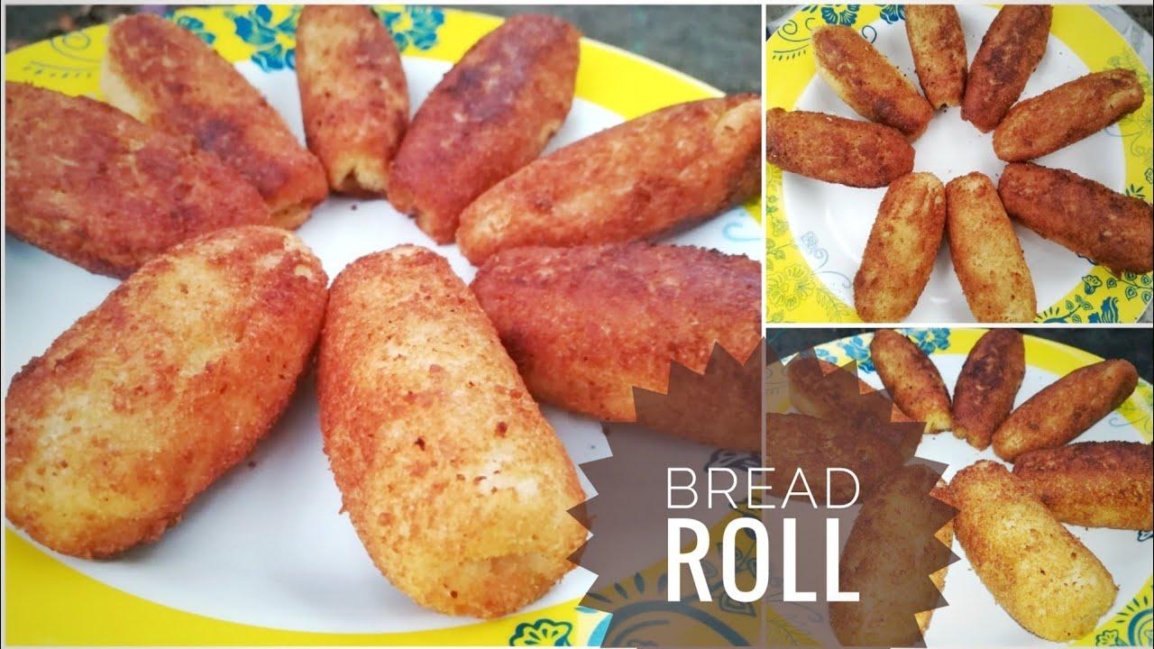Bread Roll recipe in Malayalam |ബ്രെഡ് റോൾ - YouTube