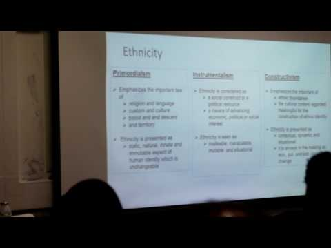 Construction of Ethnic Identity and Rise of Conflict in Ethiopia