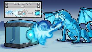 Awakening ELDER Ice Dragon! (Minecraft Dragons)