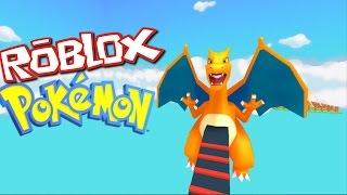 Roblox POKEMON GO OBBY!! ESCAPE THE GIANT CHARIZARD!!