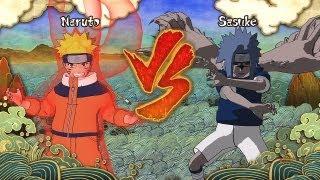Naruto Shippuden Ultimate Ninja Storm 3 - Kyuubi Naruto vs CS2 Sasuke