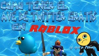 How to Get the Free Twitter Bird on Roblox