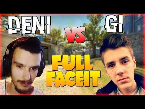 DENI vs GI | CS:GO FULL FACEIT!