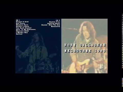 Rory Gallagher   Melbourne 1980